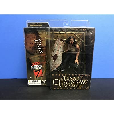 McFarlane Toys Movie Maniacs Series 7 Action Figure Texas Chainsaw Massacre Erin: Toys & Games