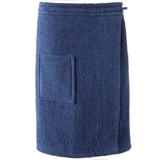 CelinaTex Funlike Toalla de Sauna Tipo Falda Corto L/XL Azul ...