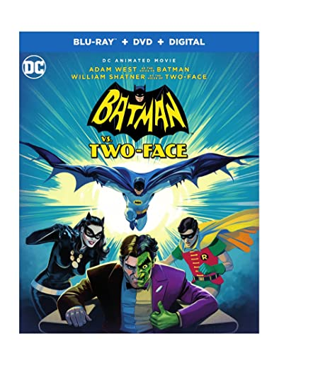 Amazon.com: Batman vs. Two-Face (BD) [Blu-ray]: Adam West ...