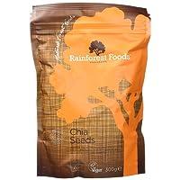 Rainforest Foods Graines de Chia 300 g Bio Lot de 2