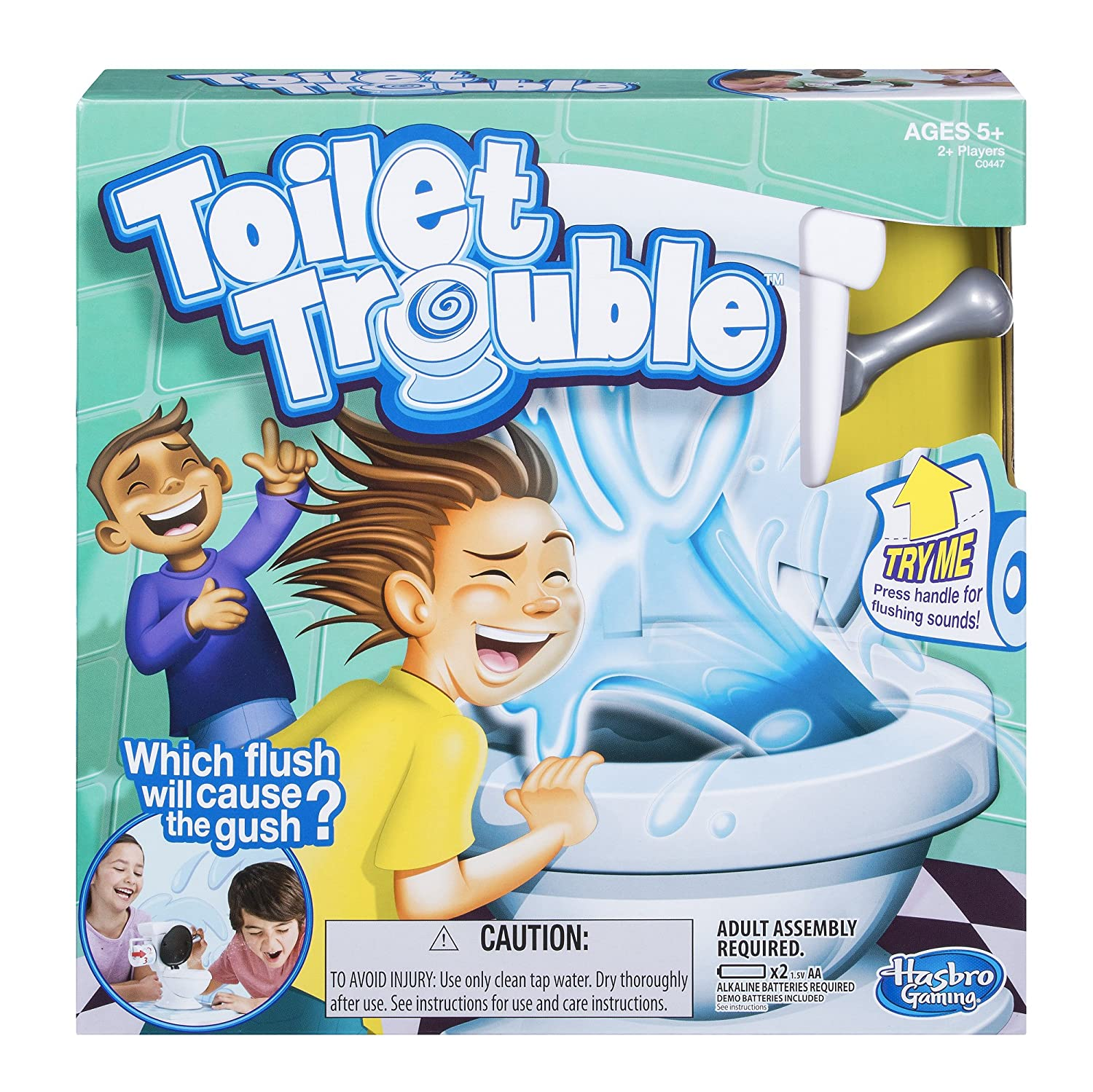 Amazon Hasbro Games Toilet Trouble Toys & Games
