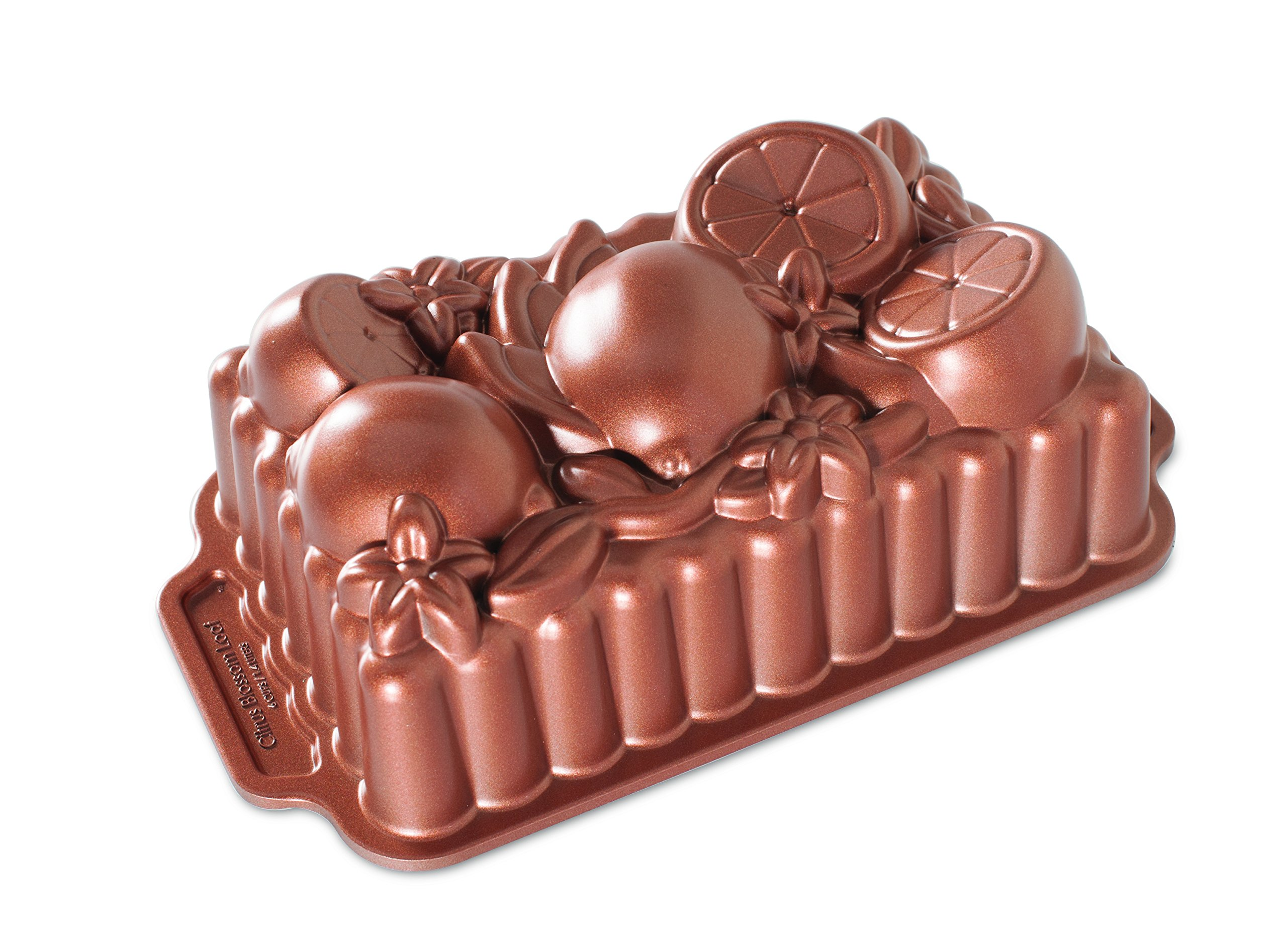 Nordic Ware 90248 Citrus Blossom Loaf, One Size, Copper by Nordic Ware