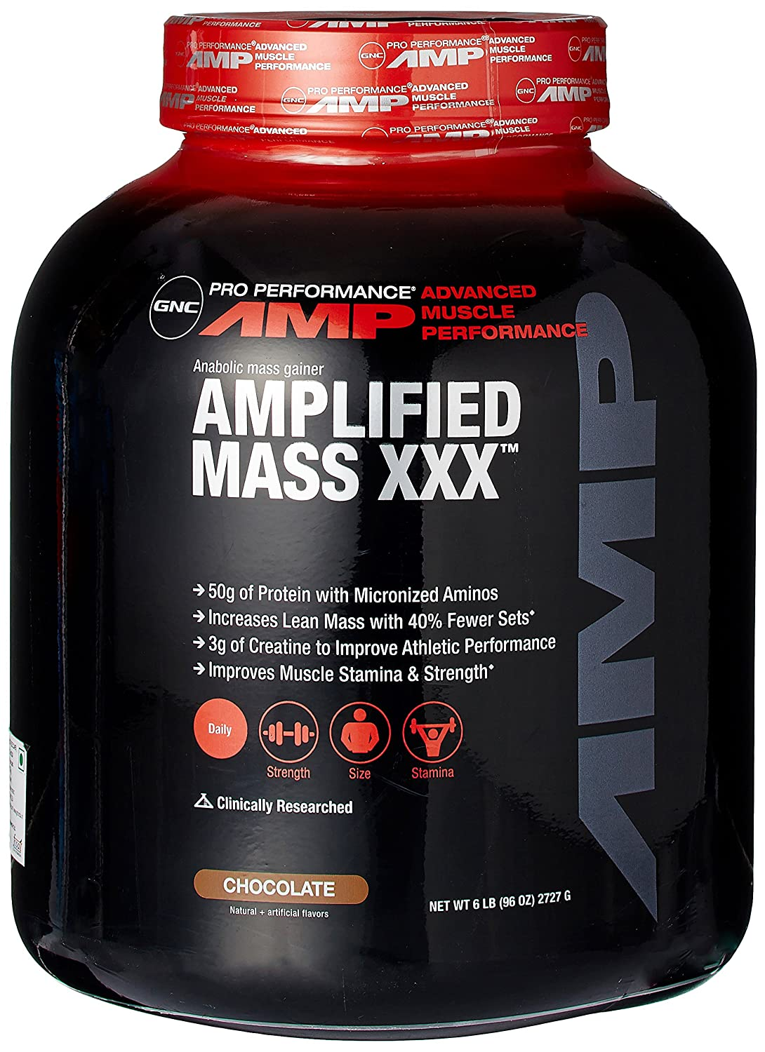 Amazon GNC Pro Performance AMP Amplified Mass XXX Weight. Amazon GNC Pro Performance AMP Amplified Mass XXX Weight Gainer Chocolate 6 Pound Health amp Personal Care