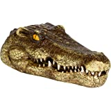 """Trademark Innovations 11"""" Fake Alligator Head Pool Float Blue Heron Decoy for Ponds, and Water Features by"""