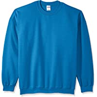 GILDAN Mens Fleece Crewneck Sweatshirt Shirt