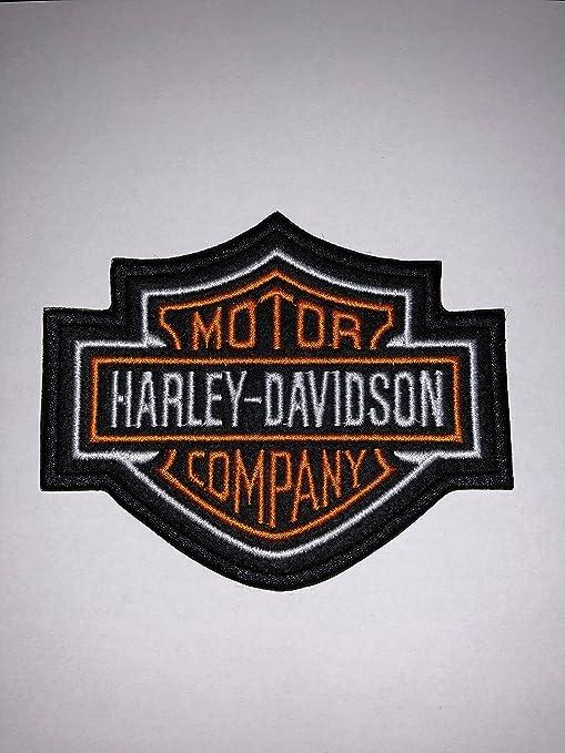Patch Harley Davidson parche termoadhesivo bordado cm 8,2 x 7 Replica
