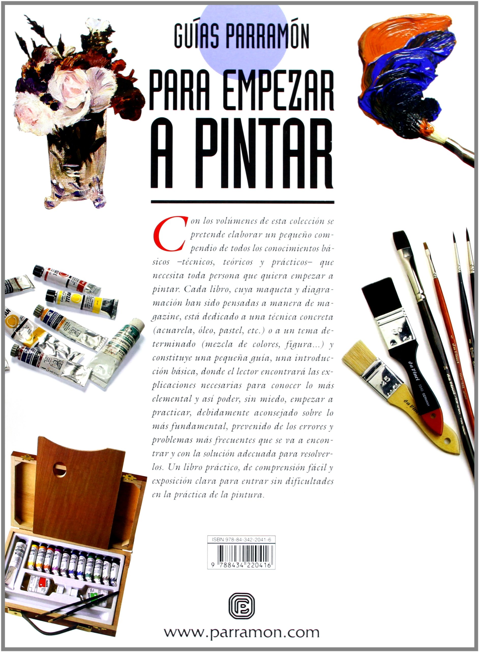 Guias parramon para empezar a pintar oleo (Spanish Edition ...