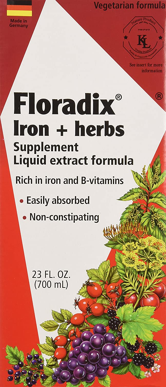 Amazon.com : Salus-Haus - Floradix Iron & Herbs - 23 oz (FFP) : Health & Personal Care