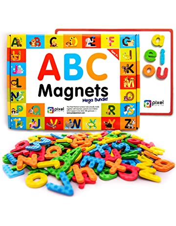 Amazon com: Magnetic Letters & Words: Toys & Games