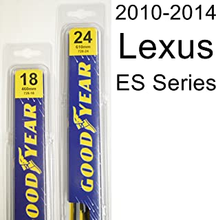"product image for Lexus ES Series (2010-2014) Wiper Blade Kit - Set Includes 24"" (Driver Side), 18"" (Passenger Side) (2 Blades Total)"