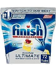 Finish Quantum Ultimate Dishwasher Tablets  - Lemon, 72 Pack
