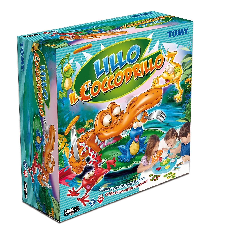 The Box Mac Due Italy 233142 - Gioco Lillo Il Coccodrillo Mangione MacDue Italy