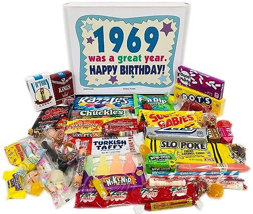 Woodstock Candy 1969 - Caja de regalo para 51 cumpleaños ...