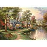 Schmidt Spiele - Thomas Kinkade, Am See, 1500 Teile Puzzle