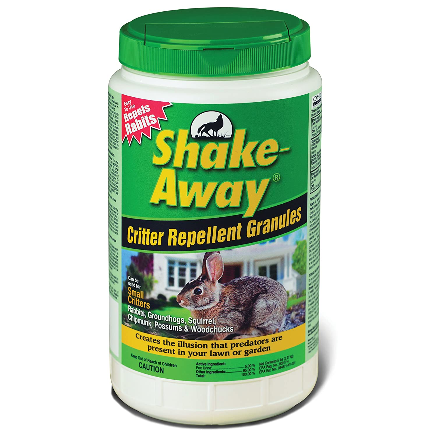 amazon com shake away 5006258 fox urine granules 5 pound