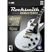 [Amazon Canada]Rocksmith 2014 Remastered 54,99 (including cable) PC, XBOX 1, PS4