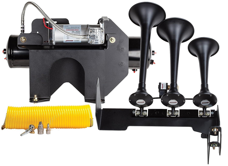 Kleinn Air Horns HDKIT-730 Bolt-On Train Horn//Onboard Air System for GM 2500HD//3500HD Diesel Trucks