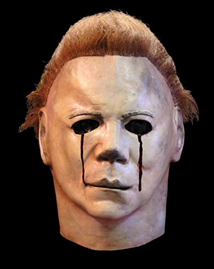 MICHAEL MYERS 1981 máscara lágrimas de sangre