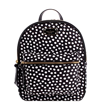 ae14a1d74d38 Kate Spade Wilson road musical dots small bradley Nylon Backpack 10 quot ...