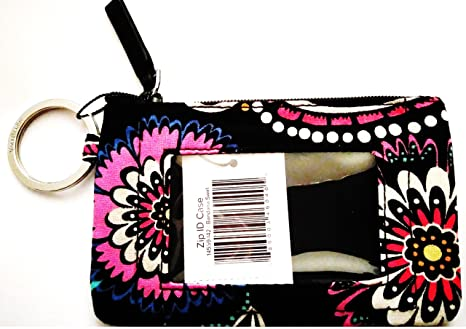 separation shoes 21923 7521f Vera Bradley Zip ID, Womans Wallet, ID holder, Credit Card Pouch, Coin  Purse in Bandana Swirl