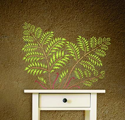 Amazon.com: Tree Fern Stencil - (size 14.5\