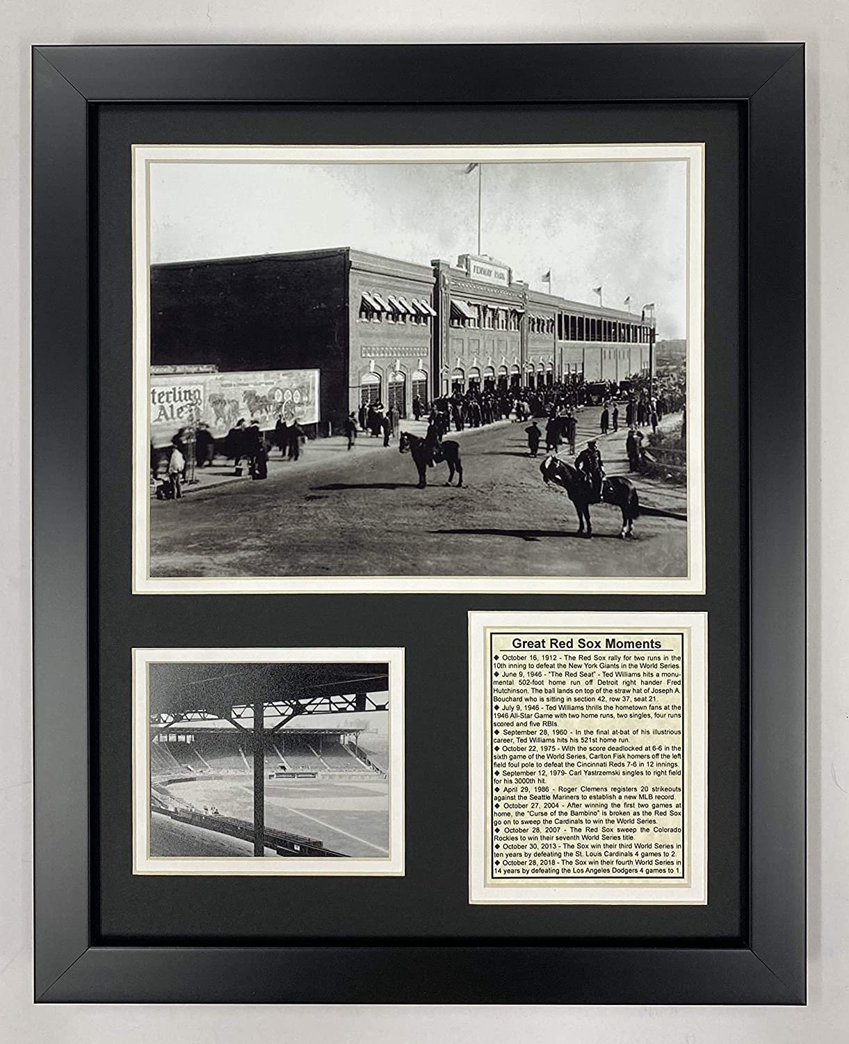 """Legends Never Die Fenway Park in 1912 Collectible 