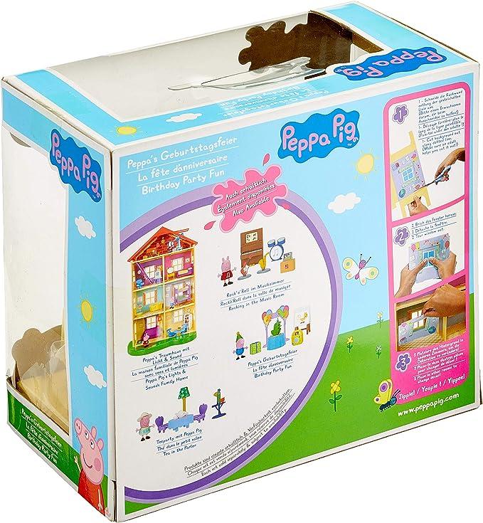 mehrere Farben Peppa Wutz 97013 Peppa Geburtstagsparty mit Schorsch Spielset