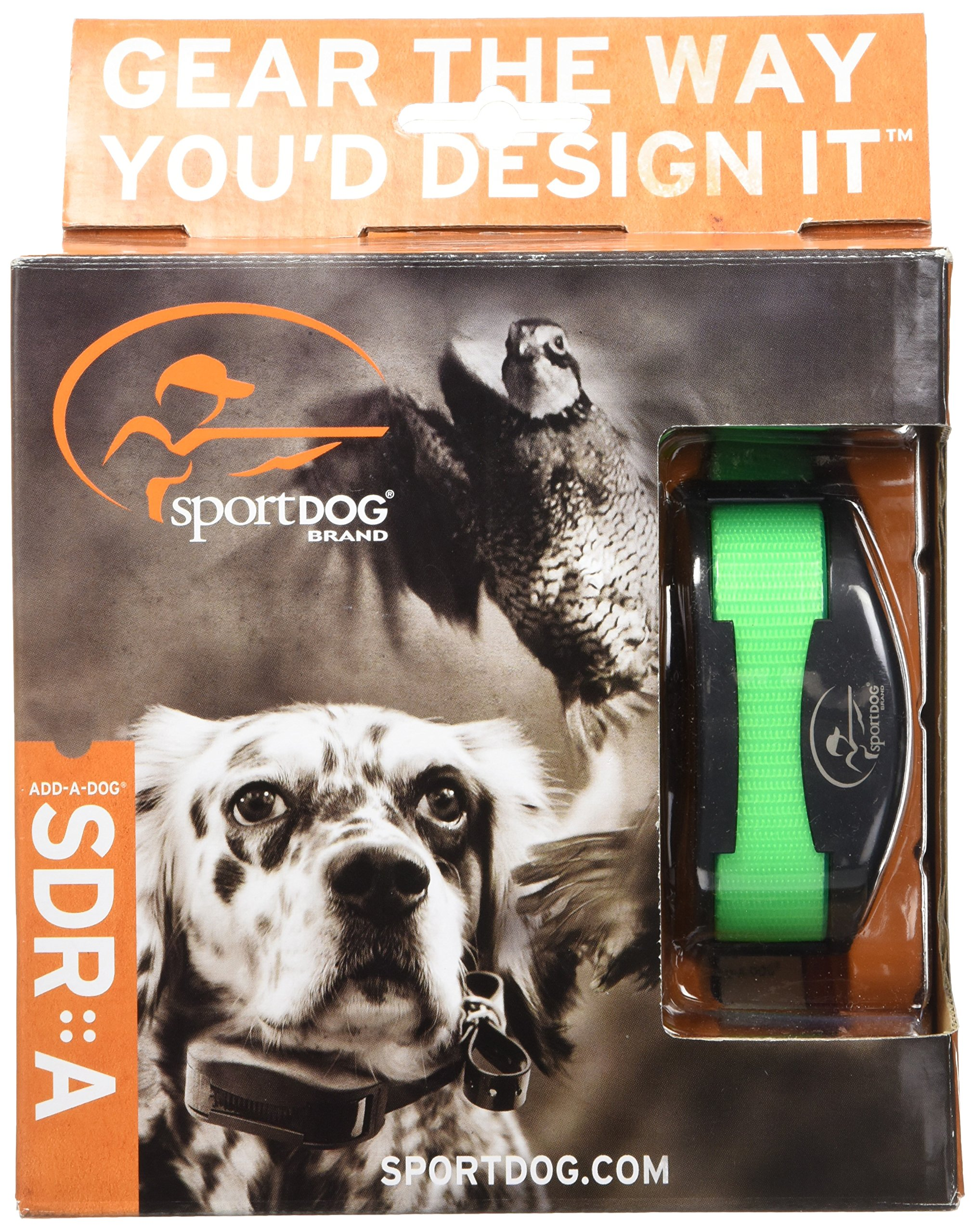 SportDOG Brand SportHunter 1825 Add-A-Dog Collar - Additional, Replacement, or Extra Collar for Your Remote Trainer - Waterproof and Rechargeable with Tone, Vibration, and Shock