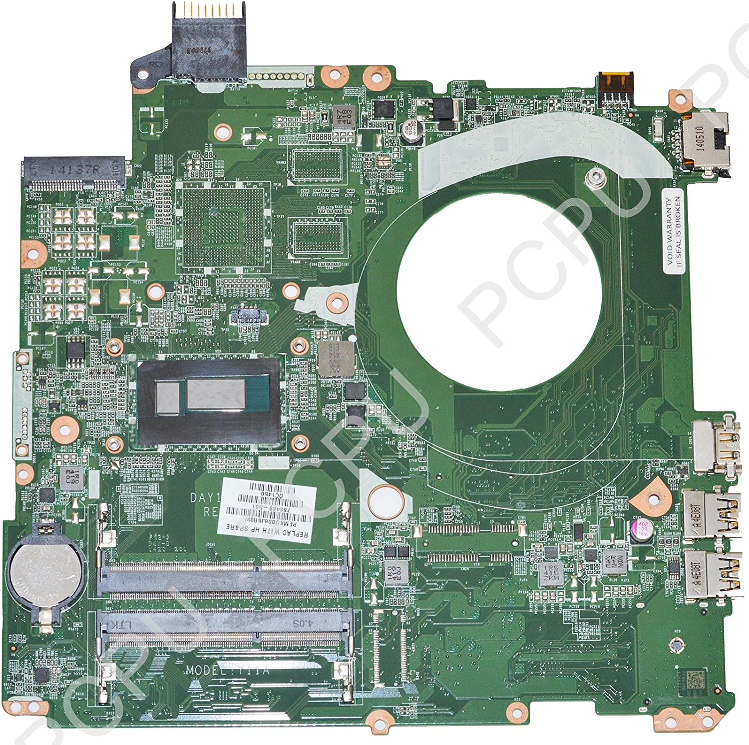 766469-501 HP Pavilion 15-P Laptop Motherboard w/ Intel i5-4210U 1.7GHz CPU