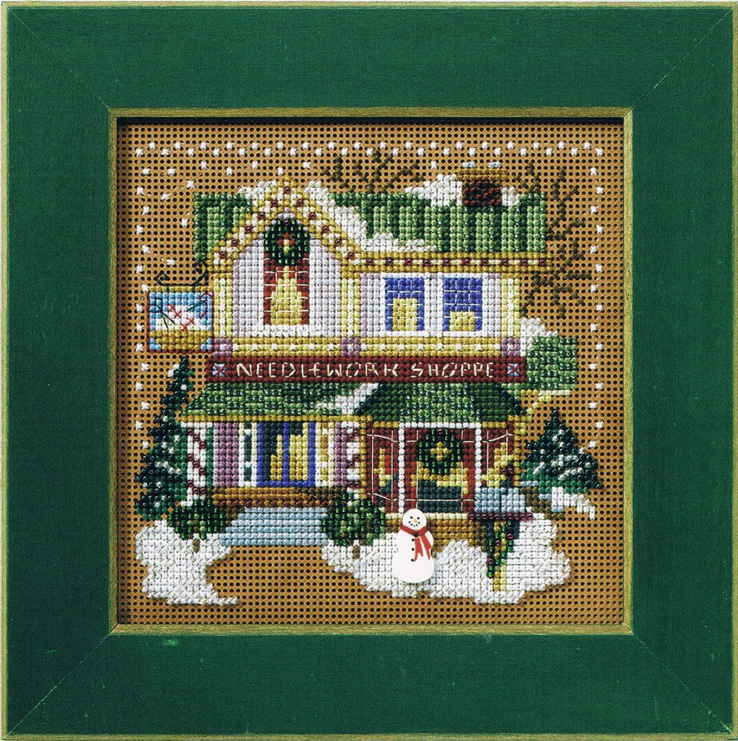 Craft Village Counted Cross Stitch Kit