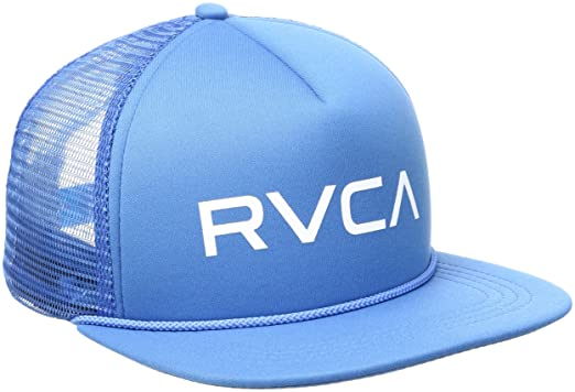 73bcef8519e6b Amazon.com  RVCA Men s Foamy Trucker Hat  Clothing