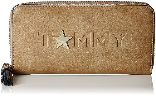 8a5d522bca3 TOMMY HILFIGER Women's Wallet (Beige): Amazon.in: Shoes & Handbags