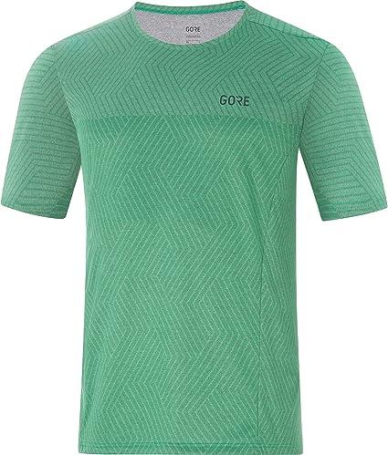 GORE WEAR Mens Breathable Short Sleeve Running Shirt