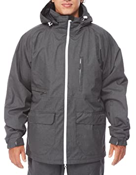 LIGHT - Chaqueta de Snowboard para hombre, Foster, talla: L, color: gris oscuro, FA861-13: Amazon.es: Deportes y aire libre