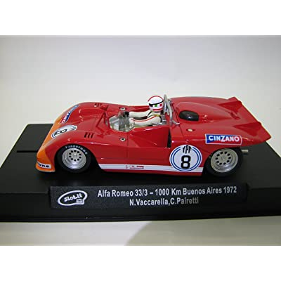 Slot.It CA11i Alfa Romeo 33/3 n.8 1000 Km Buenos Aires 1972