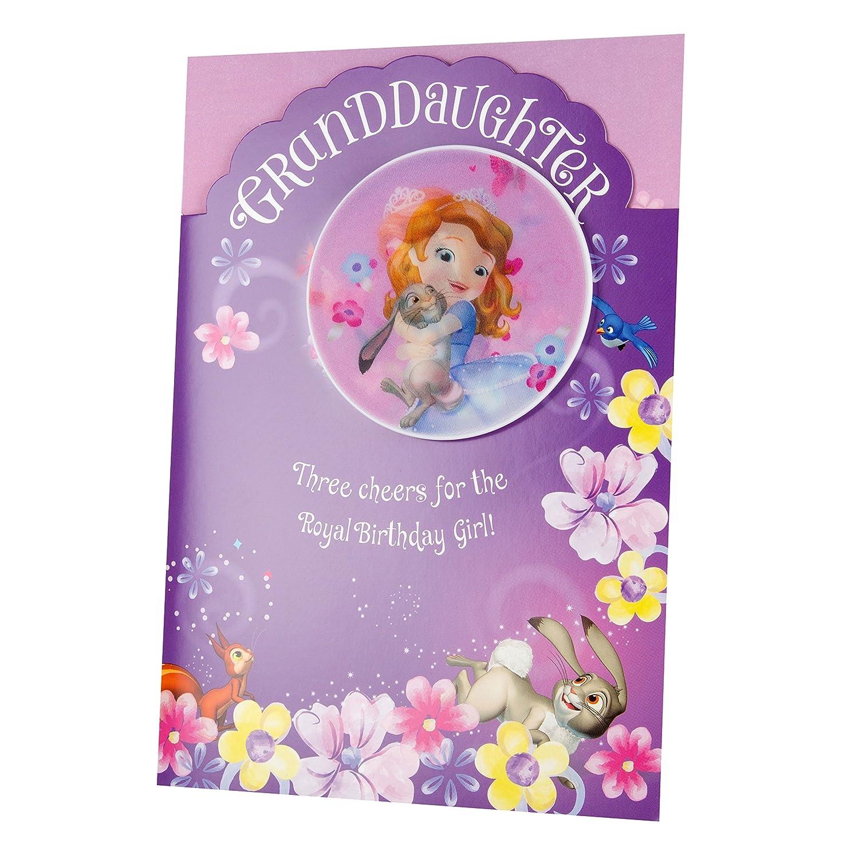 Hallmark - Tarjeta de cumpleaños para nieta de Princesa ...