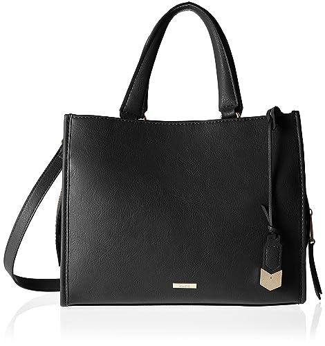 d000a8adbc7 Aldo Womens Dhanbad Tote Black (Black)  Amazon.co.uk  Shoes   Bags