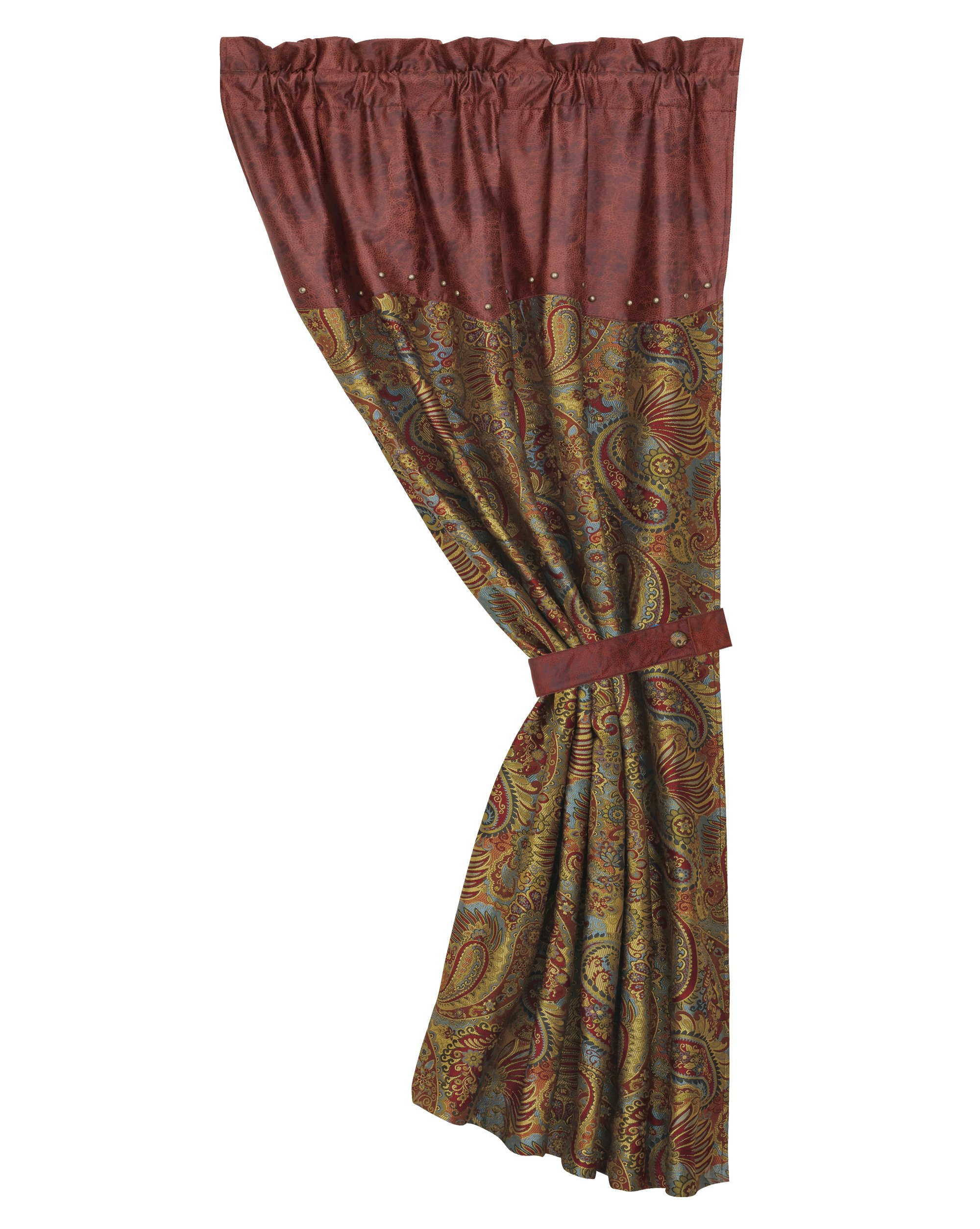 HiEnd Accents San Angelo Western Curtain