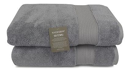 76b876109faef Amazon.com: SALBAKOS Fine Italian Silk and Combed Turkish Cotton ...