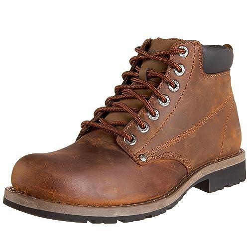 Shockwaves Various 61746 WTN - Botas de cuero para hombre, color marrón, talla 44 Skechers