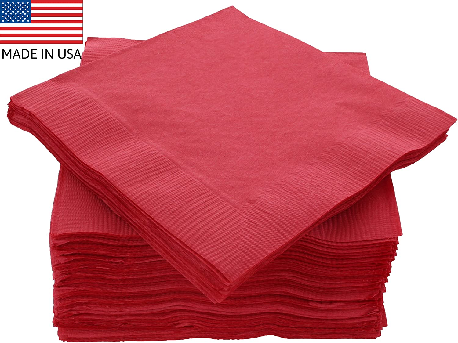 Huge Pack 125 New Year Paper Napkins New Year Catering Party Napkins Tableware