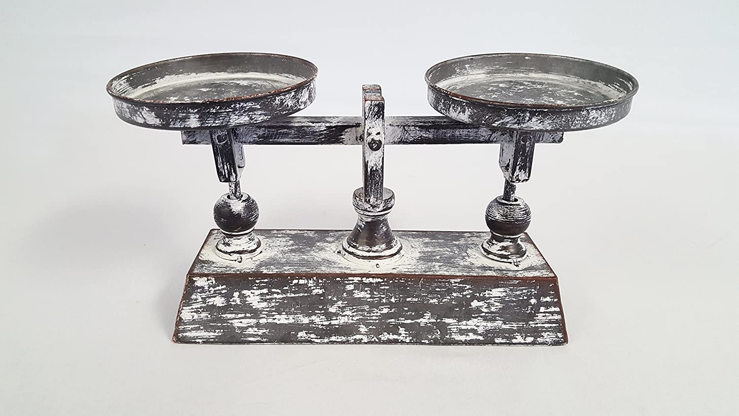 Distressed French Balance Scale Decor