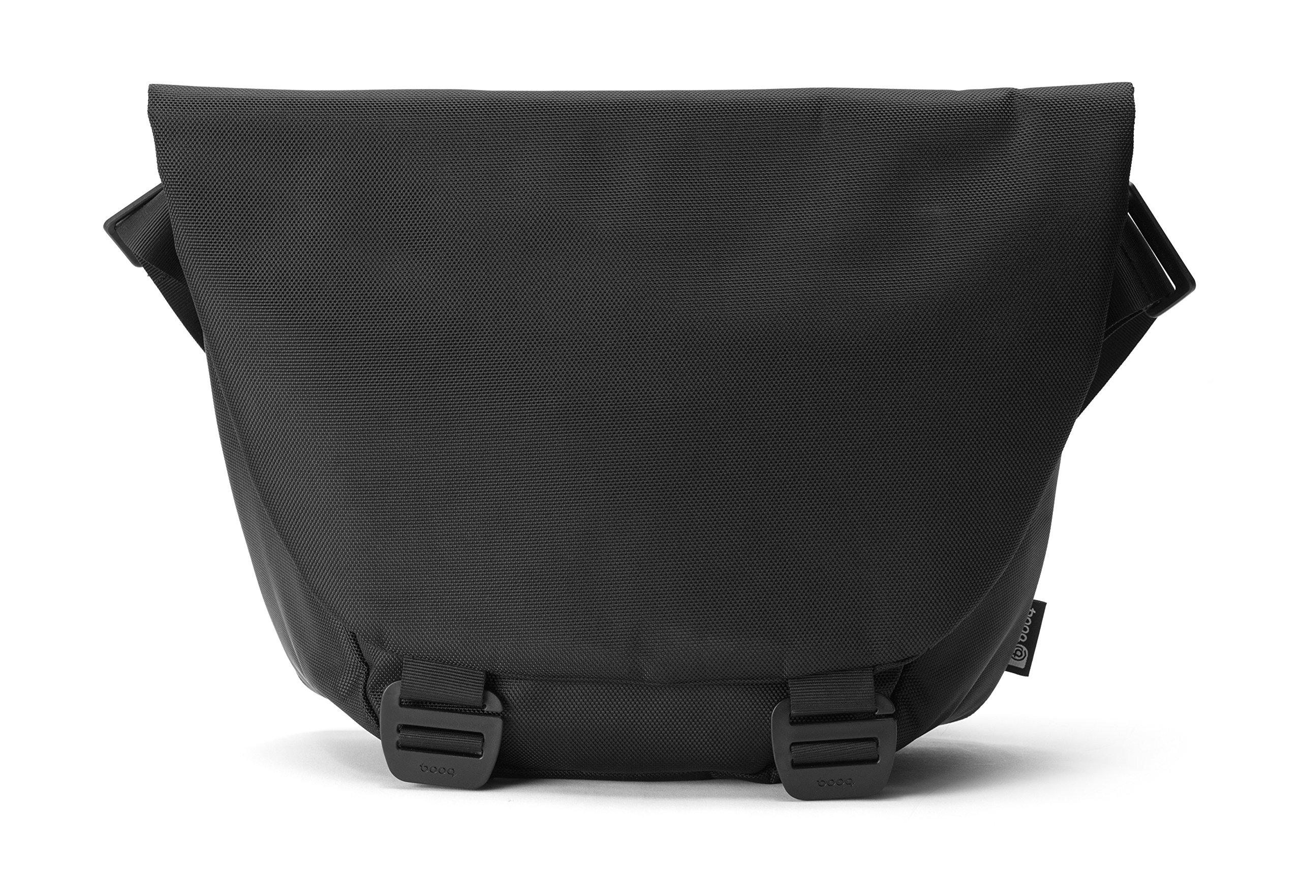 Booq Shadow, Black Nylon Shoulder Bag for Up to 15'' MAC/PC