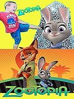 Zootopia SURPRISE EGGS ~WORLD'S LARGEST Disney Zootopia New Movie + Nerf Toy Cars Animal SURPRISE EGG Video