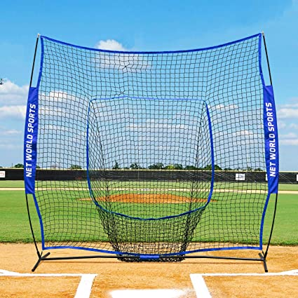 bf498aaad Image Unavailable. Image not available for. Color: Fortress Pop-Up Sock Net  Screen [7ft x 7ft] | Baseball & Softball
