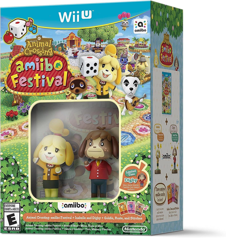 Amazon com: Animal Crossing: amiibo Festival Bundle - Wii U
