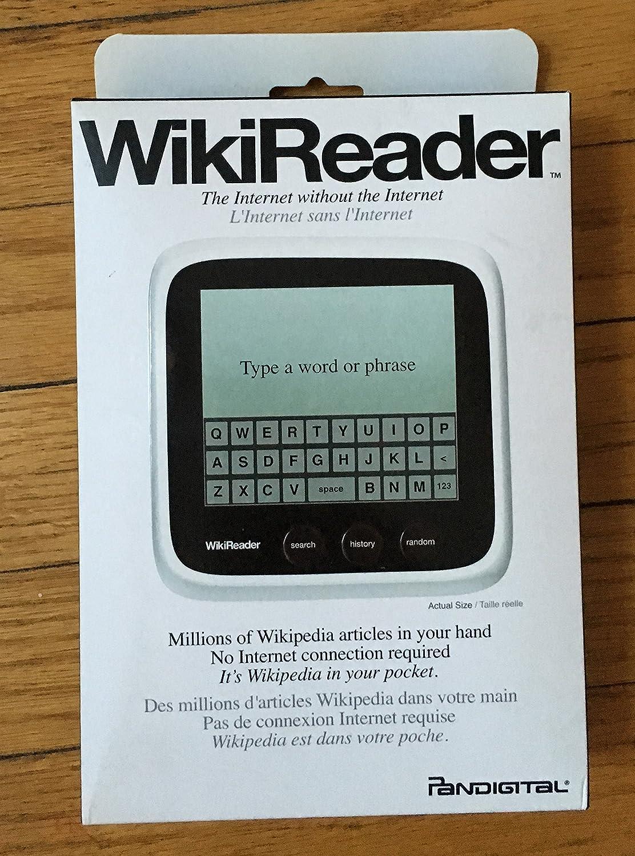 Pandigital Handheld electrónico Enciclopedia, Bolsillo Wikipedia Lector – para Estudiantes, Profesores y educadores – versión actualizada
