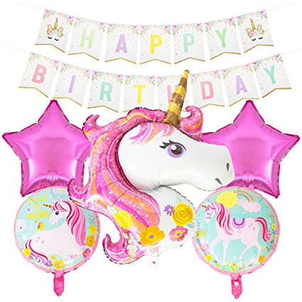 Image Unavailable Not Available For Color Unicorn Birthday Party Decoration