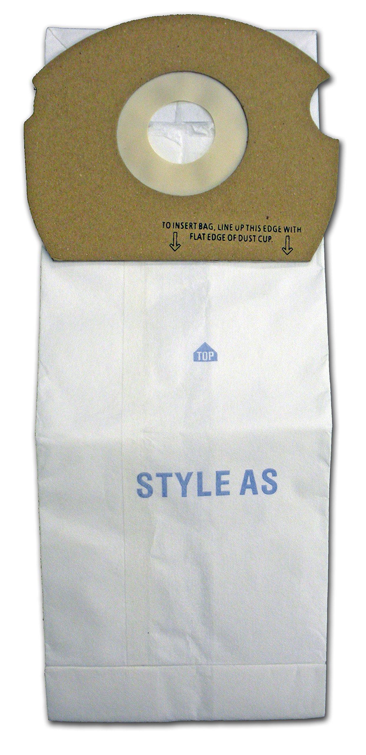 EnviroCare Replacment Vacuum bags to fit Eureka Type AS 15 pack