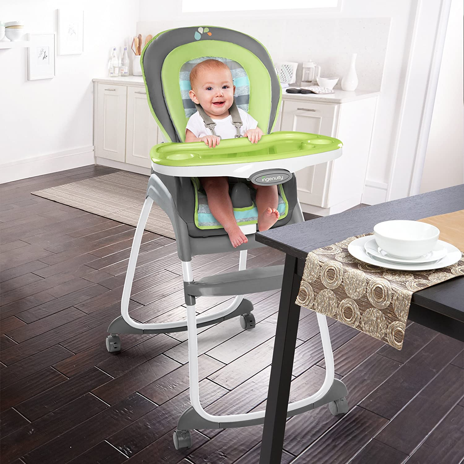 ingenuity reviews impresscms elite highchair trio wood high in me chair